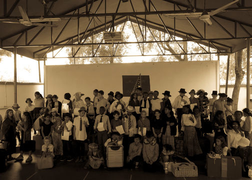 4th Graders Migrate to Ellis Island
