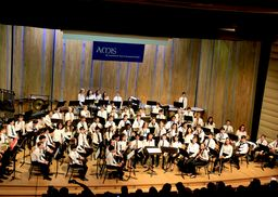 A Lincoln First - the AMIS European Middle School Honor Band