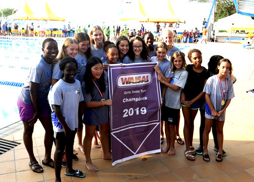 Swimmers Sweep at WAISAL